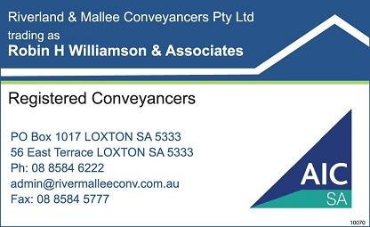 Conveyancers / Conveyancing Services | Riverland Link