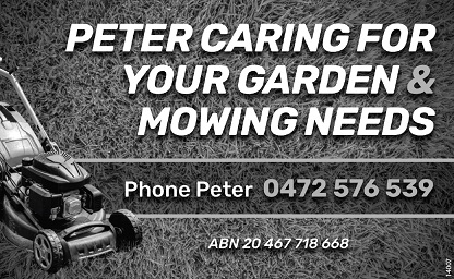 banner image for Peter Caring For Your Garden & Mowing Needs