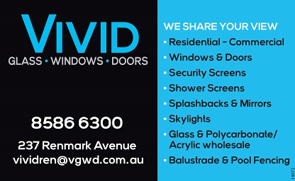 banner image for Vivid Glass, Windows & Doors