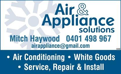 banner image for Air & Appliance Solutions