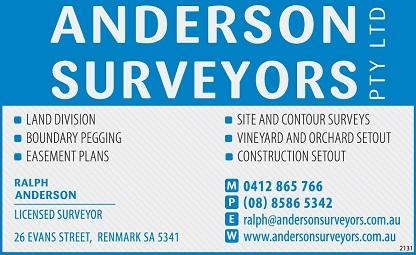 banner image for Anderson Surveyors Pty Ltd